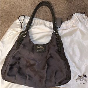 Coach 3 sectioned purse